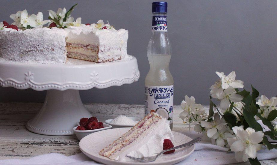 RECEPT: Torta s malinama i kokosom
