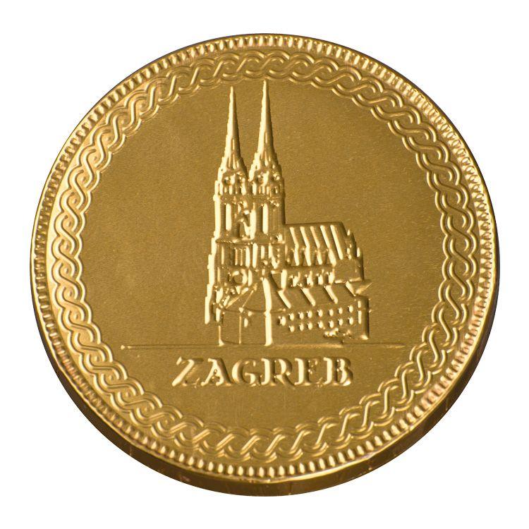 ČOKOLADNI MEDALJON ZAGREB