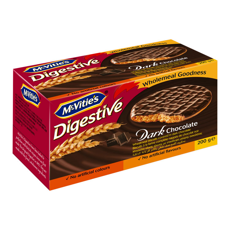 DIGESTIVE DARK CHOCOLATE