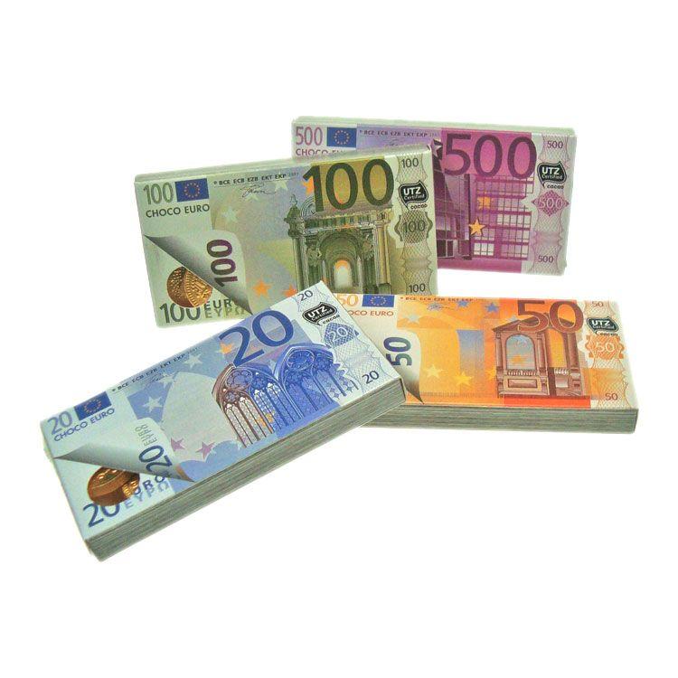 ČOKOLADNE NOVČANICE EURO