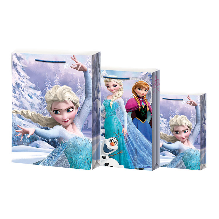 UKRASNA VREĆICA FROZEN CHRISTMAS BAG - LARGE