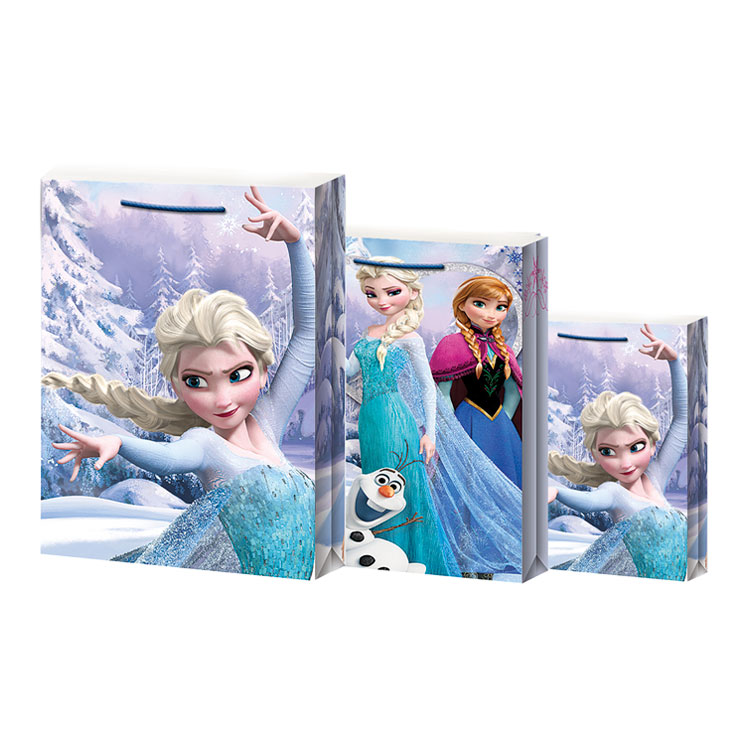 UKRASNA VREĆICA FROZEN CHRISTMAS BAG - MEDIUM