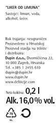 LIKER LIMUN - deklaracija