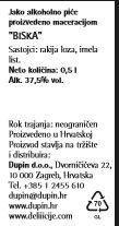 RAKIJA BISKA - deklaracija