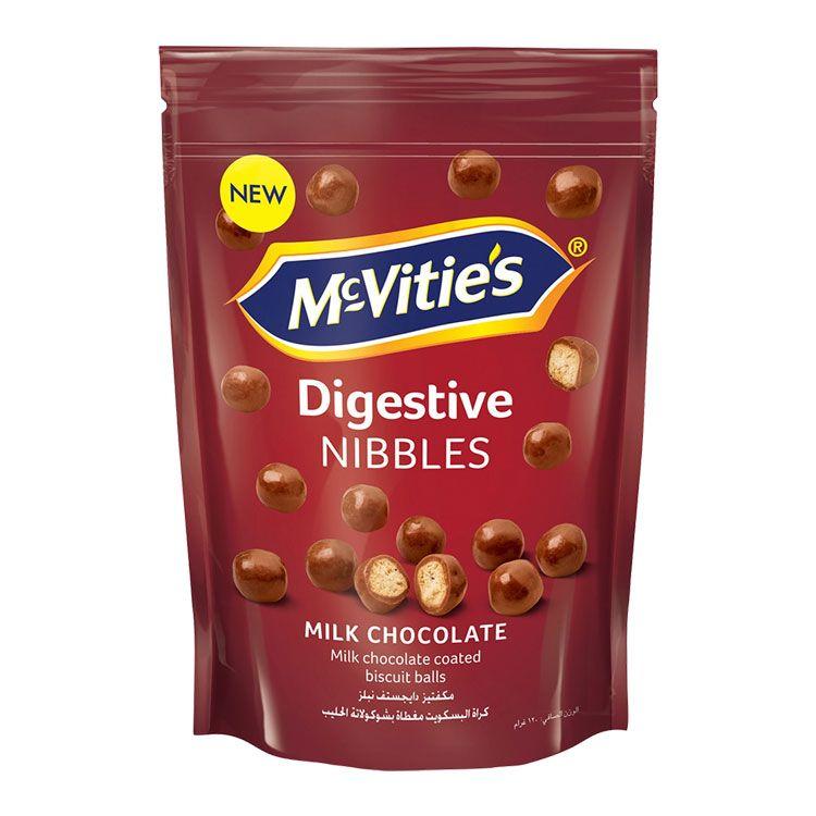 DIGESTIVE NIBBLES MILK CHOCOLATE