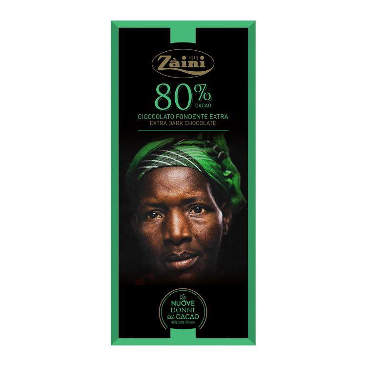 TAMNA ČOKOLADA AFRIKANKE 80%